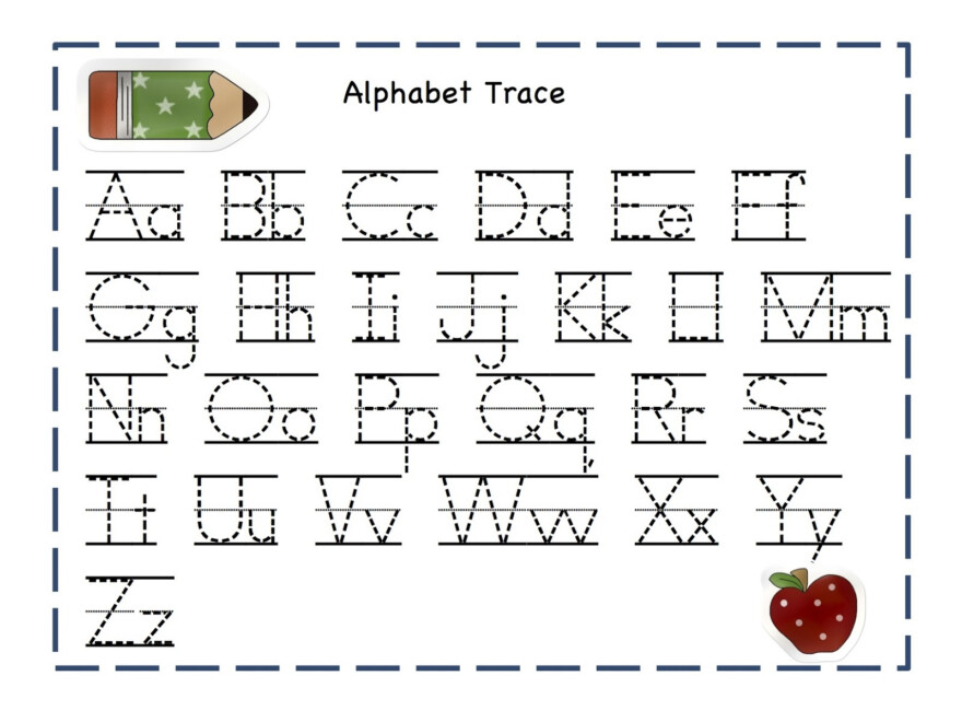 Coloring Book : Trace Letters Worksheets Activity Shelter for Printable Letters Of The Alphabet For Tracing