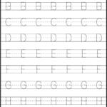 Coloring Book : Tracing Letter Worksheets Preschool Free with regard to Tracing Letters Worksheets Generator