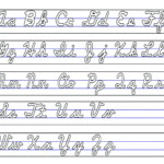 Coloring Book : Tracing Lowercase Letters Printable Cursive within Tracing Lowercase Alphabet Letters