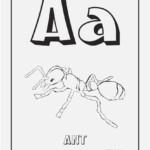 Coloring Letter A Display Letter A Coloring Pages Best Dltk inside Dltk Tracing Letters