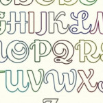 Coloring ~ Letters For Coloring Alphabet Bubble To Color Z in Bubble Tracing Letters Printable