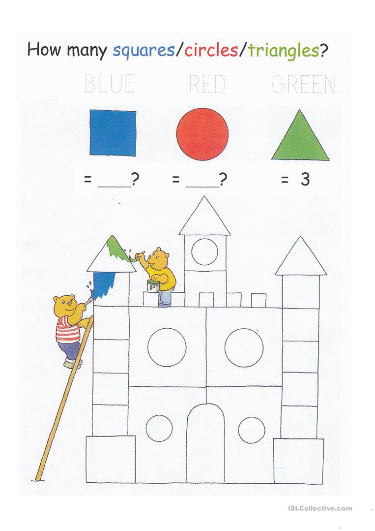 Colors, Shapes, Counting To 20, And Letter Tracing Worksheet with regard to Tracing Letters And Shapes Worksheets