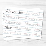 Custom Tracing Sheets | Kids Activities inside Tracing Letters Custom