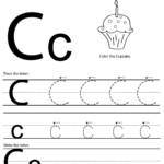 نتيجة بحث الصور عن worksheet C | Printable Preschool within C Letter Tracing Worksheet