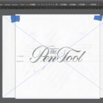 Digitally Tracing Lettering | Pies Brand for Tracing Letters In Illustrator