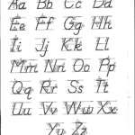D'nealian Font | Teaching Handwriting, Teaching Cursive with D'nealian Alphabet Tracing Worksheets