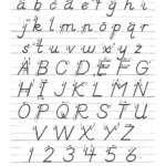 D'nealian Manuscript   Learn Handwriting, Dnealian intended for D'nealian Alphabet Tracing Worksheets