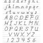 D'nealian Manuscript | Learn Handwriting, Dnealian throughout D'nealian Letter Tracing Worksheets