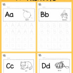 Download Free Alphabet Tracing Worksheets For Letter A To Z intended for Tracing Alphabet Letters Az