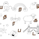 Eli Puli | Trace & Learn Worksheets – Nursery Rhyme Themed with regard to Tamil Letters Tracing Worksheets