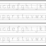 English Alphabet Worksheet For Kindergarten | Letter Tracing inside English Letters Tracing Worksheets