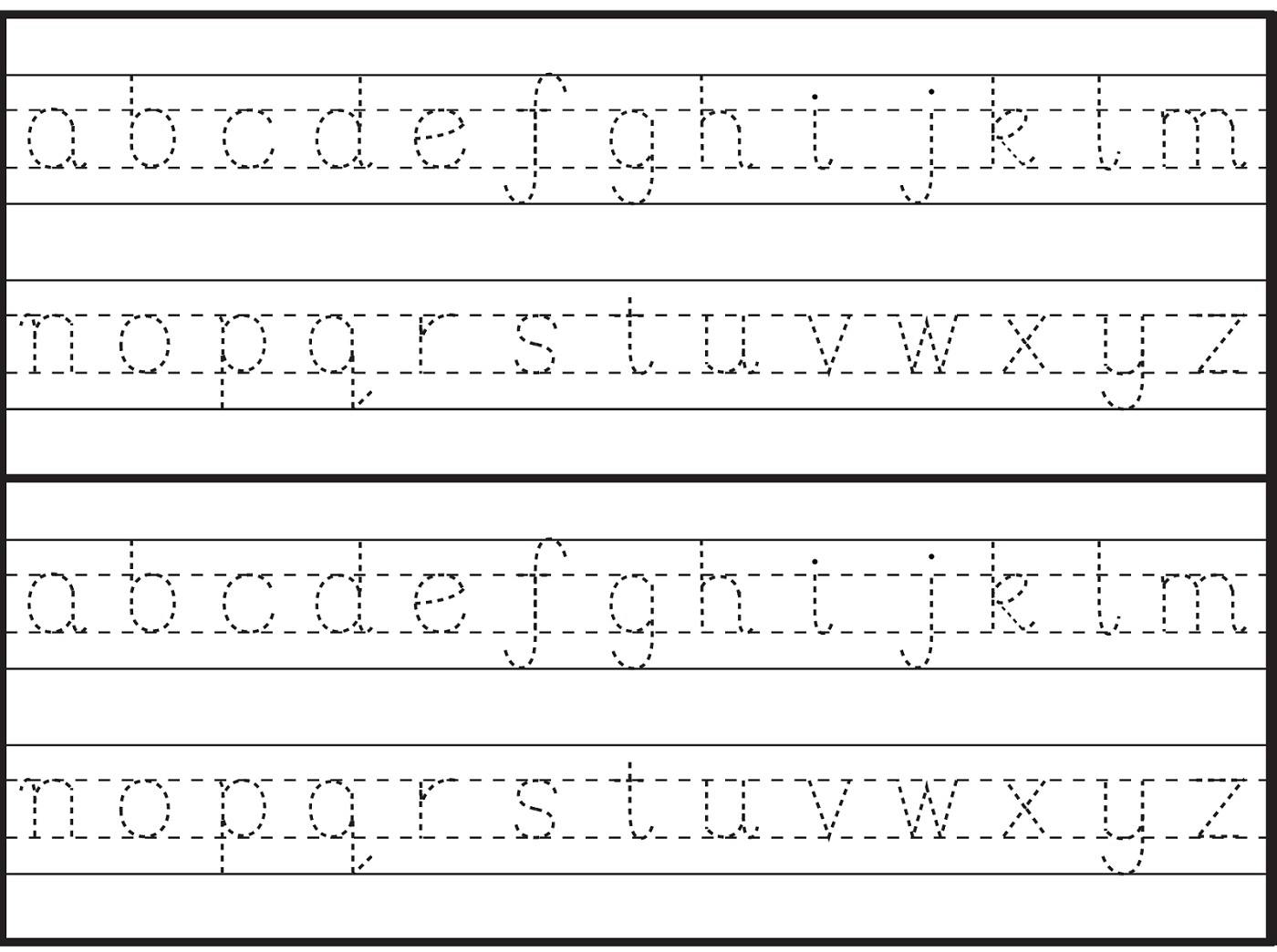 English Alphabet Worksheet For Kindergarten | Letter Tracing pertaining to Interactive Tracing Letters Online
