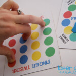 Finger Twister - Diy Printables & Instructions | Motor throughout Tracing Letters With Fingers