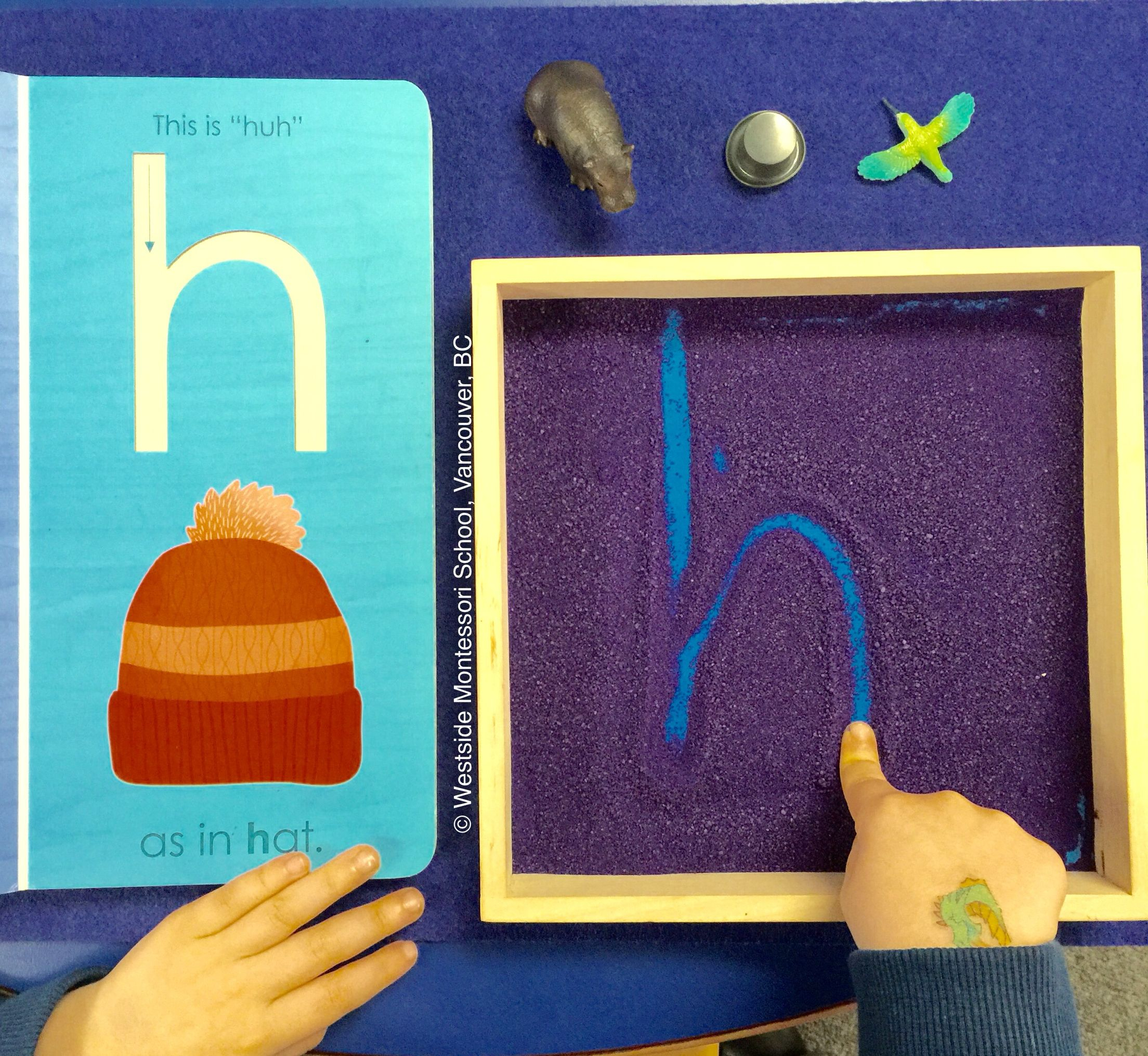 Fostering A Multi-Sensory Approach To Literacy ~ Seeing for Sand Tracing Letters