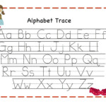 Free Alphabet Tracing Templates ] - Tracing Letters Template pertaining to Printable Abc Tracing Letters