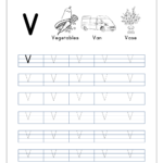 Free English Worksheets - Alphabet Tracing (Capital Letters with Tracing Capital Letters Worksheets