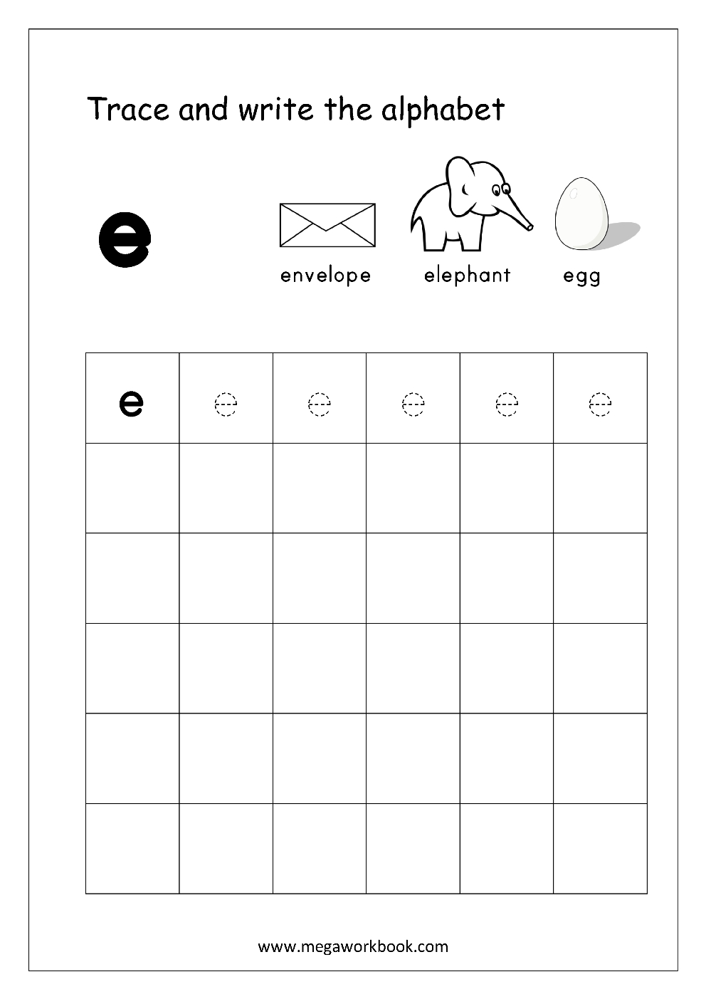Free English Worksheets - Alphabet Writing (Small Letters regarding Small Letters Tracing Worksheets Pdf