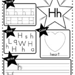 Free Letter H Worksheet: Tracing, Coloring, Writing & More throughout Free Tracing Letter H Worksheets
