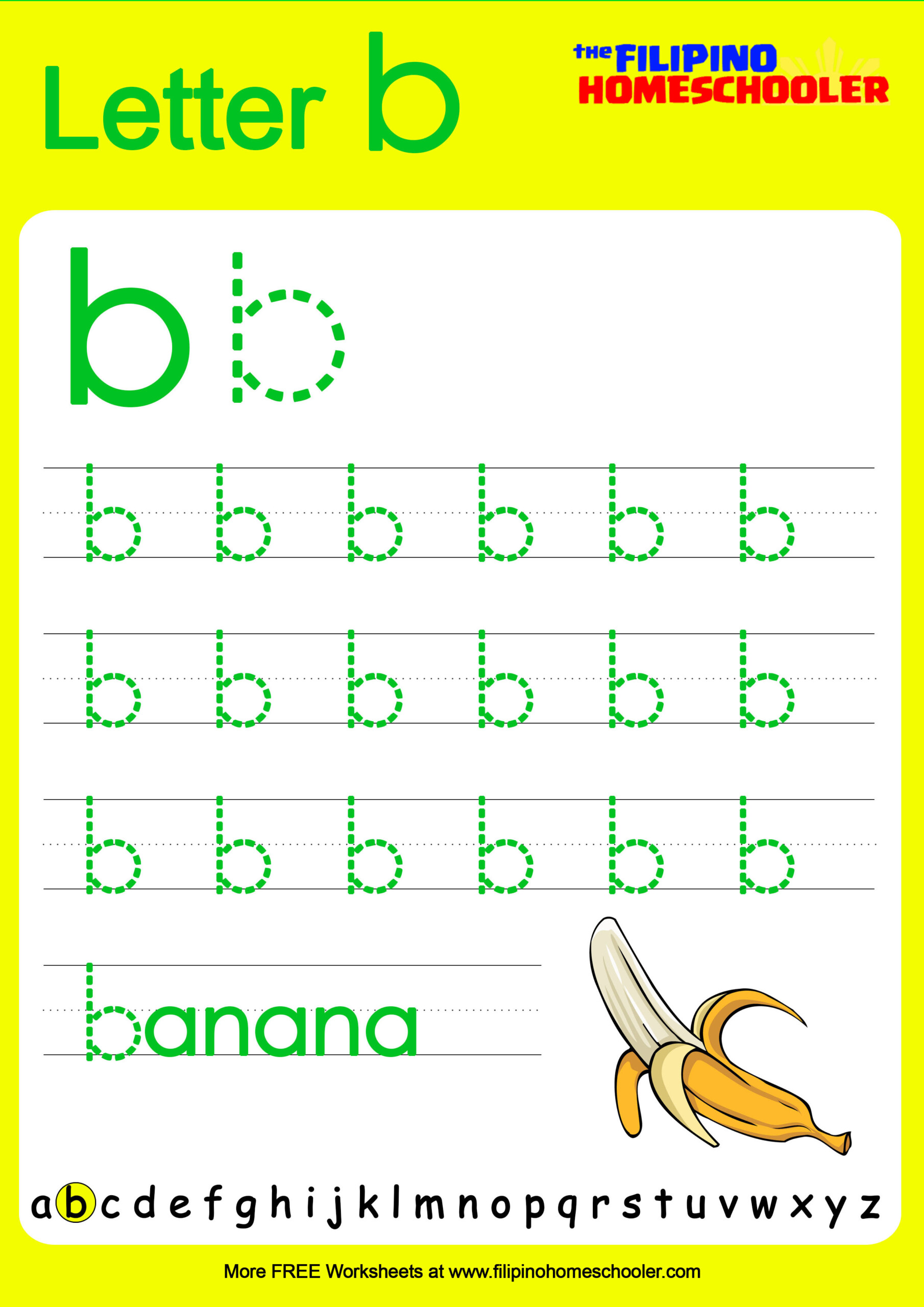 Free Lowercase Letter Tracing Worksheets – The Filipino within Alphabet Tracing Lowercase Letters