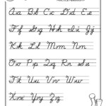 Free Print Alphabet Letter Worksheets |  – Free Abc's with Tracing Cursive Alphabet Letters