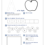 Free Printable Alphabet Recognition Worksheets For Capital regarding Letter Tracing Activity Worksheets