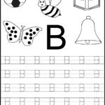 Free Printable Letter Tracing Worksheets For Kindergarten within Tracing Alphabet Letters For Kindergarten