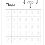 Free Printable Number Tracing And Writing Worksheets Kids in Tracing Letters And Numbers Printable Worksheets