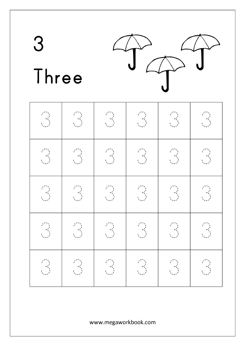 Tracing Letters And Numbers Printable Worksheets ...