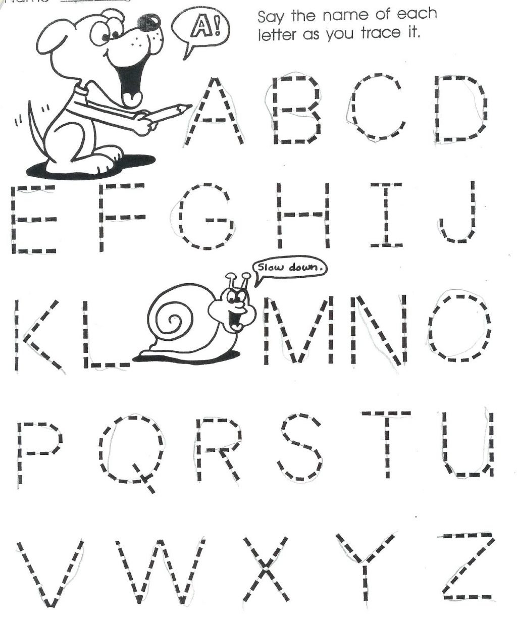 Free Printable Worksheets R Year Olds Alphabet Tracing Pdf throughout Tracing Letters For 3 Years Old