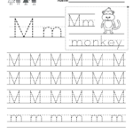 Free Ting Worksheets For Kindergarten Sheets Printable with regard to Practice Tracing Letters For Kindergarten
