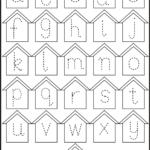 Free Tracing Letters Worksheet | Printable Worksheets And in Letter Tracing Worksheets Lowercase