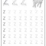 Free Tracing Letters Worksheet | Printable Worksheets And regarding Tracing Letter Z Worksheets