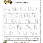 Free Tracing Worksheets For Year Olds Custom Name Prek Ting throughout Tracing Letters Custom