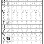 Free Uppercase Letter Tracing Worksheets | Letter Tracing inside Letter Tracing Worksheets Lowercase