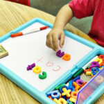 Getting Crafty With Lakeshore Learning | Apples And Abc's in Lakeshore Tracing Letters
