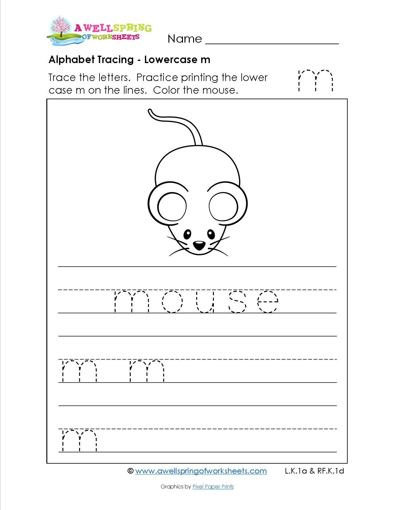 Grade Level Worksheets | Writing Practice Worksheets for Making Tracing Letters Worksheets