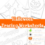 Halloween Tracing Worksheets - Raising Hooks intended for Halloween Tracing Letters