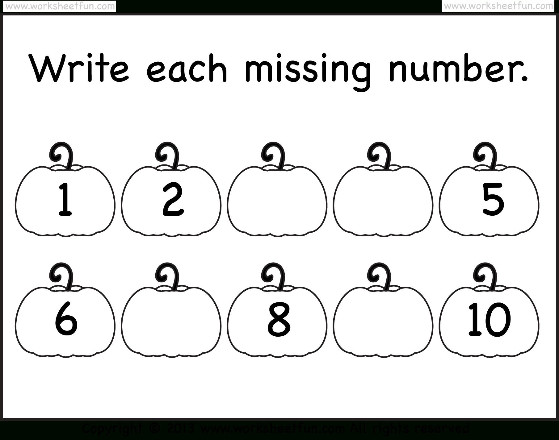 Halloween Worksheets | Kindergarten Math Worksheets, Missing within Halloween Tracing Letters