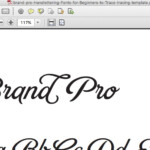 Hand-Lettering: Fonts For Beginners To Trace | Hand inside Tracing Letters In Illustrator