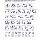 Handwriting Practice Worksheets D'nealian   Handwriting pertaining to D'nealian Alphabet Tracing Worksheets