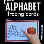 Help Kids Remember Letters With This Free Alphabet Tracing in Tracing Letters With Fingers