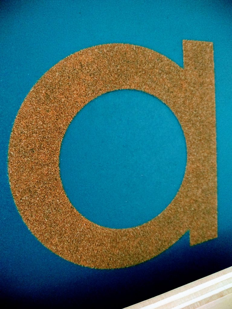 How Do Sandpaper Letters Work? — The Montessori-Minded Mom intended for Montessori Tracing Letters