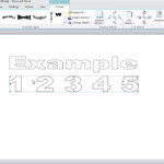 How To Make Dashed Letters And Number Tracing In Microsoft regarding How To Write Tracing Letters In Microsoft Word