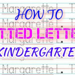 How To Make Dotted Letters (Tagalog )- Kindergarten intended for How To Make Dotted Letters For Tracing