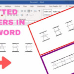 How To Make Tracing Letters In Microsoft Word in Dot Letters For Tracing Names