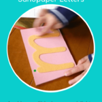 How To Present Montessori Sandpaper Letters » Jojoebi intended for Importance Of Tracing Letters