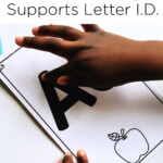 How Tracing Letters Helps Letter Identification - Mrs in Tracing Letters With Fingers