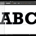 Illustrator Cc: How To Convert Text To Outlines for Tracing Letters In Illustrator