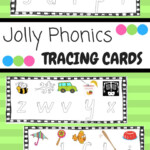 Jolly Phonics Letter Tracing (Pictures Match The Songs in Tracing Letters Jolly Phonics