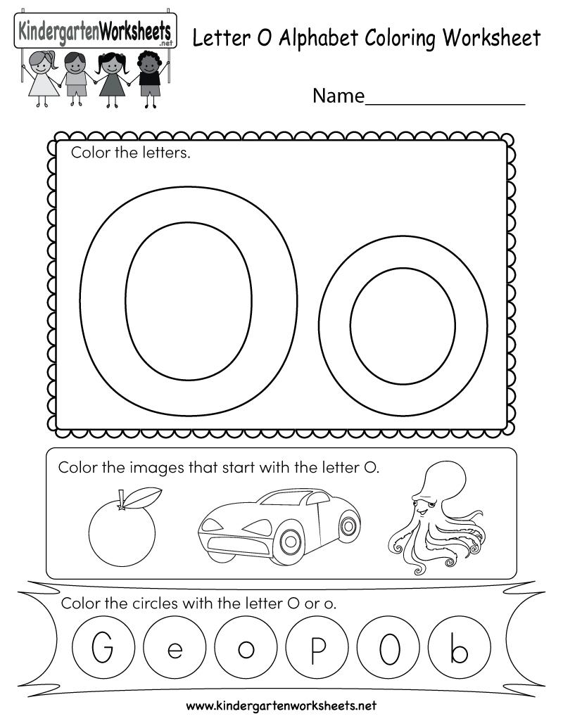 Kids Orksheets Captivating Letter O Kittybabylove Com throughout Trace Letter O Worksheets